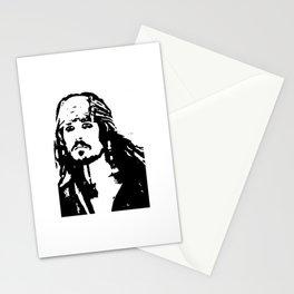 pirates caribbean sea Stationery Cards
