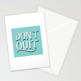 don't quite Stationery Cards