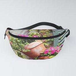 Petunia Flower Pots Fanny Pack