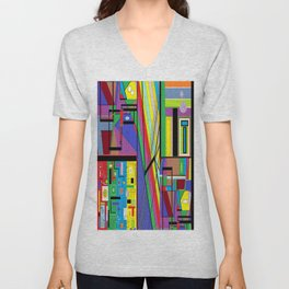 Geometry Abstract Unisex V-Neck