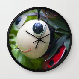 Little Ladybird Wall Clock