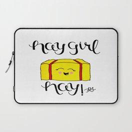 Hay Girl Hay! Laptop Sleeve
