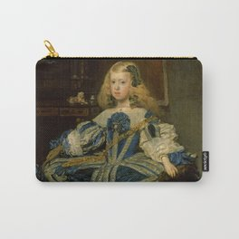 """Diego Velázquez """"Infanta Margarita Teresa in a Blue Dress"""" Carry-All Pouch"""