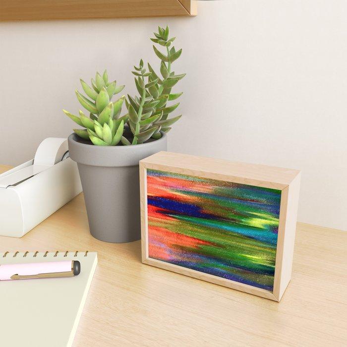 Abs pastel Framed Mini Art Print