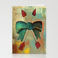 bow Stationery Cards featuring Bow by Kerri Swayze