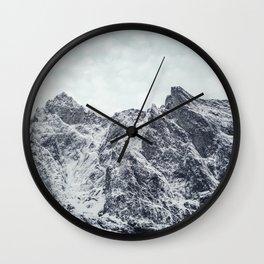 Trollveggen Wall Clock