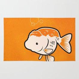 Ranchu Goldfish Rug