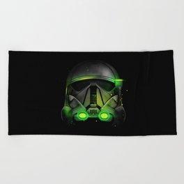 Death Trooper Shadow Beach Towel