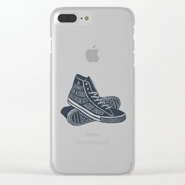 A Journey Of A 1000 Miles Begins With A Single Step Clear iPhone Case