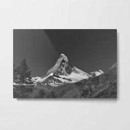 Classic Matterhorn Metal Print
