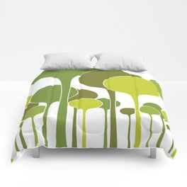 Green palette Comforters