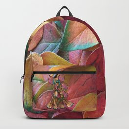 Forest Leaves in Holland Backpack