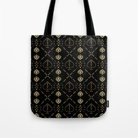 ace Tote Bags featuring Ace by October's Very Own