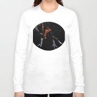 nightcrawler Long Sleeve T-shirts featuring Nightcrawler by bernardtime