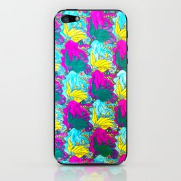 The Alligator Grins / The Peacock Weeps iPhone Skin