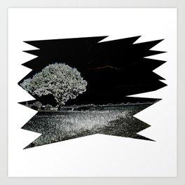 Winternacht Art Print