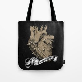 a heart that survived Tote Bag