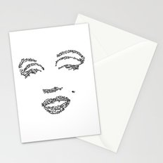 Marilyn Monroe WordsPortrait Stationery Cards