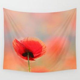 Poppy Dream Wall Tapestry