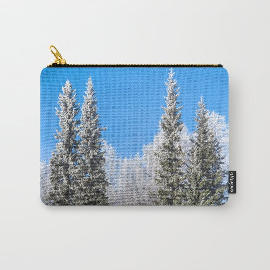 Frozen forest Carry-All Pouch