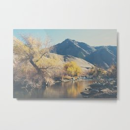 down by the river ... Metal Print