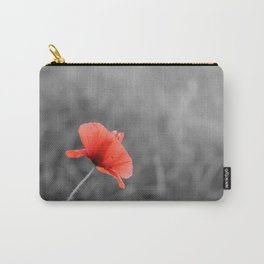 Poppy flower plant Carry-All Pouch