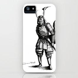 Samurai Fox iPhone Case