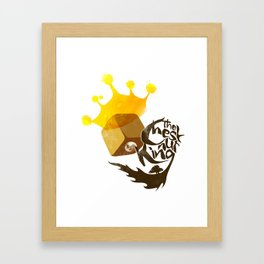 The Chestnut King Framed Art Print