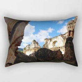 Among the rubble - Antigua Guatemala Rectangular Pillow