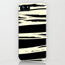 black + vanilla iPhone Case