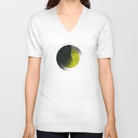 shadow V-neck T-shirts featuring Shadow by NGHBRS