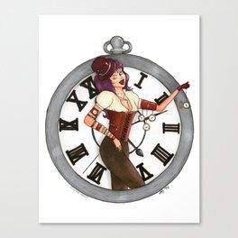 Lost & Found: Timekeeper Canvas Print
