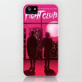 Tyler and Marla scene iPhone Case