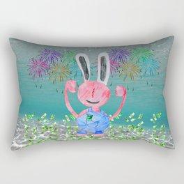 Money Money | Lord Stingy | Kids Painting Rectangular Pillow