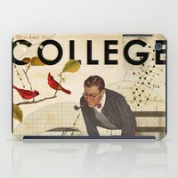college iPad Cases featuring Welcome to... College by Heather Landis