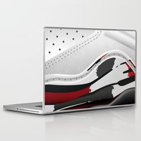 sneaker Laptop & iPad Skins featuring ABSTRACT SNEAKER JUMPMAN 8 by LTR ARTWORK