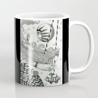 lake Mugs featuring East of Blue Lake by Judith Clay