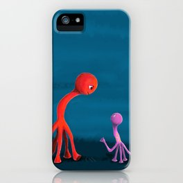 Mabel and Rennie iPhone Case