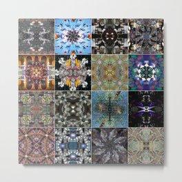 16 mandala Metal Print