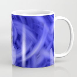 Background Flames Blue Coffee Mug