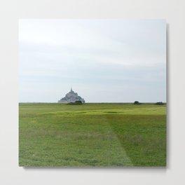 Le Mont Saint Michel 1 Metal Print