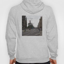 Buses along Princes Street Edinburgh Hoody