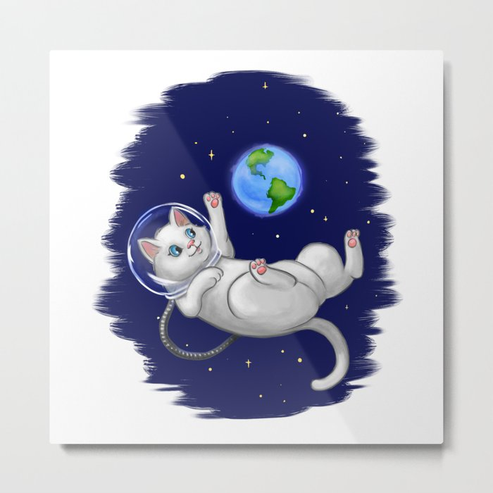 Are You there World? Its Me, Kitteh... Metal Print