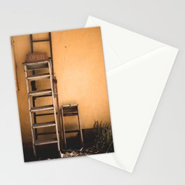 Open Sign in a Ghost Town Stationery Cards