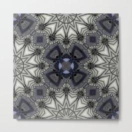 Black Rum Glass 20 Metal Print