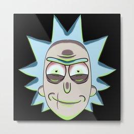 Evil Rick Sanchez Metal Print