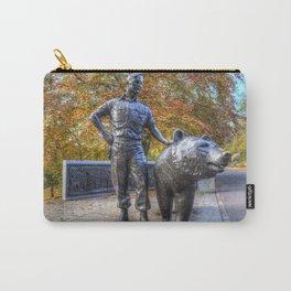 Wojtek The Soldier Bear Memorial Edinburgh Carry-All Pouch