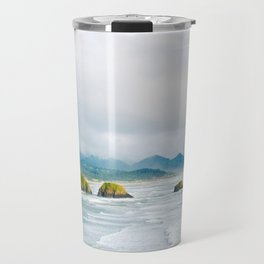 View from Ecola State Park, Cannon Beach, Oregon Travel Mug