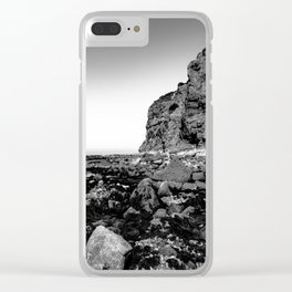Rocky Paradise Clear iPhone Case