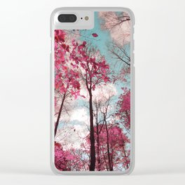 Panther Branch Trail Clear iPhone Case